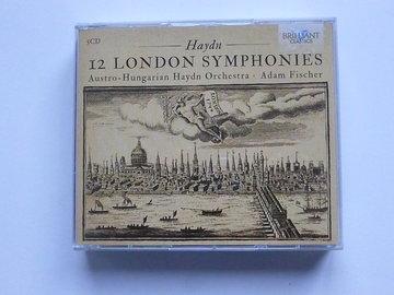 Joseph Haydn - 12 London Symphonies / Adam Fischer (5 CD)