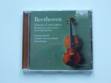 Beethoven - Violin concerto / Tetzlaff / David Zinman