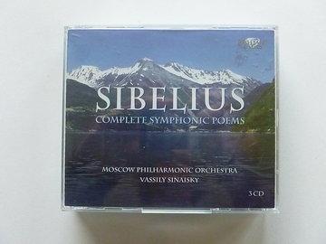 Sibelius - Complete Symphonic Poems (3 CD) Sinaisky