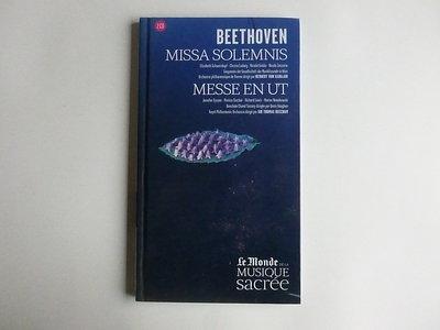 Beethoven - Missa Solemnis, H. von Karajan / Messe en ut, Sir. Thomas Beecham(2 CD)