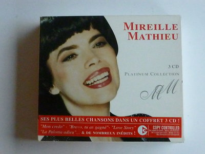 Mireille Mathieu - Platinum Collection (3 D)