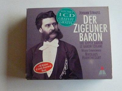 Strauss - Der Zigeuner Baron / Nikolaus Harnoncourt (2 CD)