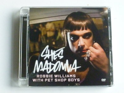 Robbie Williams with Pet Shop Boys - She's Madonna (CD Single)