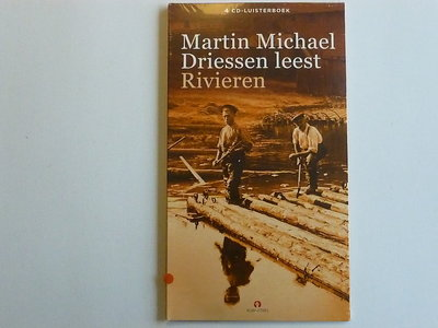 Martin Michael Driessen leest Rivieren (4 CD Luisterboek) nieuw