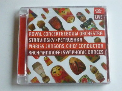 Stravinsky - Petrushka / Mariss Jansons (nieuw)