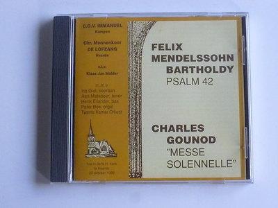 F.Mendelssohn Bartholdy / Gounod - C.O.V Immanuel , De Lofzang olv Klaas Jan Mulder