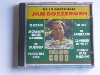 Jan Boezeroen - De 15 beste van Jan Boezeroen (gesigneerd)