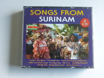 Songs from Surinam (3 CD)