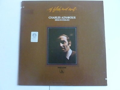 Charles Aznavour - of flesh and soul (LP)