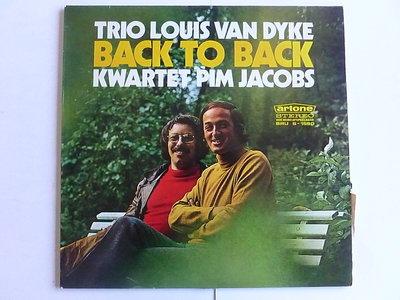 Trio Louis van Dyke - Back to Back / Kwartet Pim Jacobs (LP)