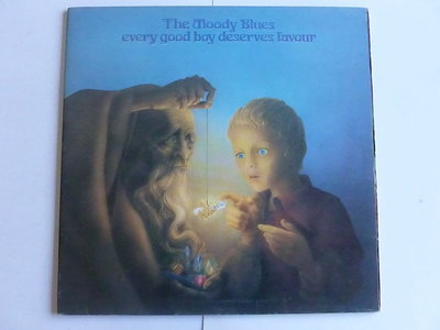 The Moody Blues - Every good boy deserves favour (LP)
