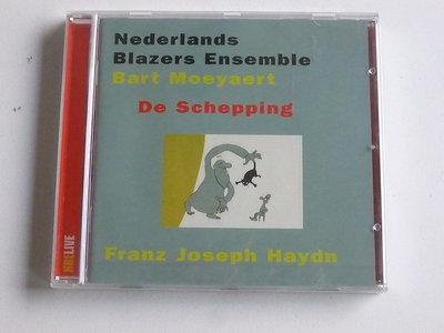 Nederlands Blazers Ensemble / Bart Moeyaert - Haydn / De Schepping (nieuw)