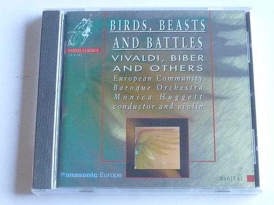 Birds, Beast and Battles - Monica Huggett (nieuw)