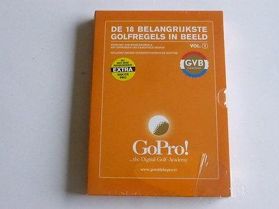 De 18 Belangrijkste Golfregels in Beeld vol. 1 (DVD) Nieuw