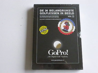 De 36 Belangrijkste Golfregels in Beeld vol. 2 (DVD) Nieuw