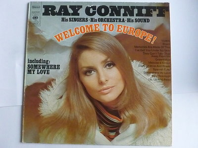 Ray Conniff - Welcome to Europe! (LP)