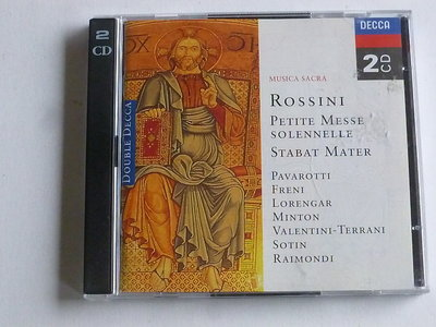Rossini - Petite Messe Solennelle / Stabat Mater, Istvan Kertesz, Pavarotti (2 CD)