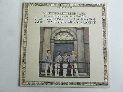 Amsterdam Loeki Stardust Quartet - Virtuoso recorder music (LP)