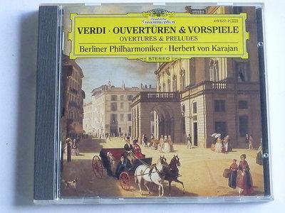 Verdi - Ouverturen & Vorspiele / Herbert von Karajan