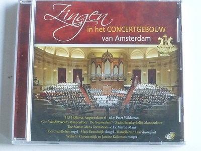 Zingen in het Concertgebouw - Martin Mans / De Gouwestem / Hollands Jongerenkoor (nieuw)