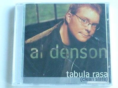 Al Denson - Tabula Rasa (clean slate) Nieuw
