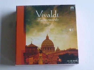 Vivaldi - Masterworks (10 CD) Nieuw