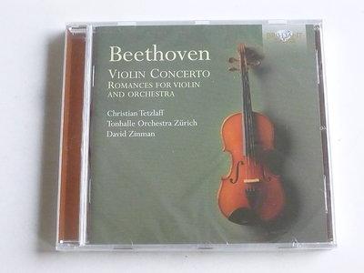 Beethoven - Violin Concerto / Christian Tetzlaff / David Zinman (nieuw)