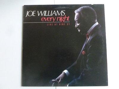 Joe Williams - Every Night / Live at Vine st. (LP)