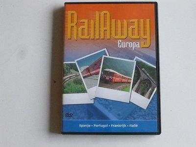 Rail Away - Europa / Spanje, Portugal, Frankrijk, Italie (DVD)