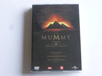 The Mummy Legends / The Mummy, The Mummy Returns, The Scorpion King (3 DVD)