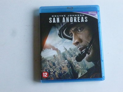 San Andreas - Dwayne Johnson (blu-ray)