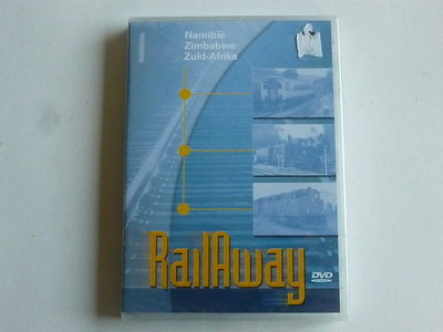 Rail Away - Namibië, Zimbabwe, Zuid-Afrika (DVD) Nieuw