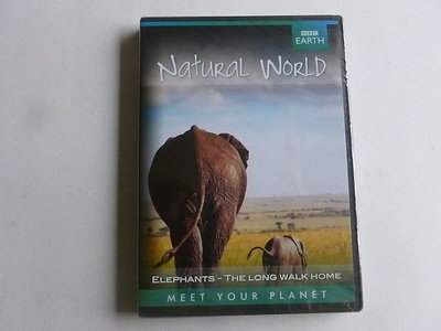Natural World - Elephants / The Long walk home BBC Earth (DVD) Nieuw