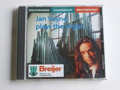 Organ Improvisations by Jan Vayne