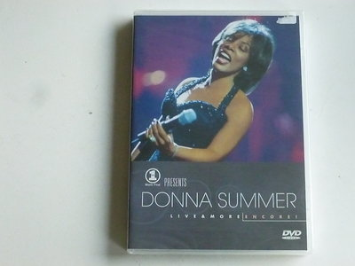 Donna Summer - Live & More Encore! (DVD) Nieuw