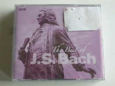 J.S.Bach - The Best of Bach (3 CD) Nieuw