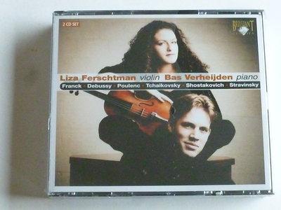 Liza Ferschtman , Bas Verheijden (2 CD)