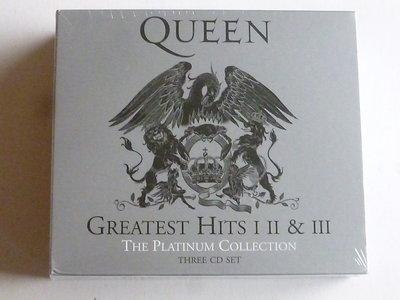 Queen - Greatest Hits I, II & III (3 CD geremastered 2011) Nieuw