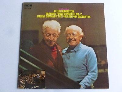 Brahms - Piano Concerto 2 / Artur Rubinstein, Ormandy (LP)