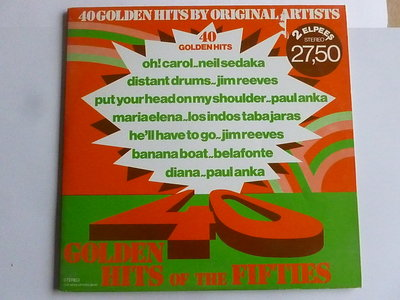 40 Golden Hits of the Fifties (2 LP)