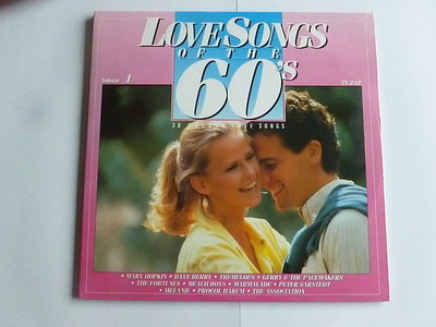 Love Songs of the 60's - volume 1 (2 LP)