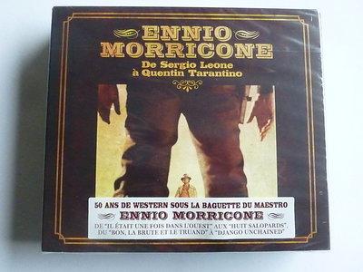 Ennio Morricone - De Sergio Leone a Quentin Tarantino (4 CD) Nieuw