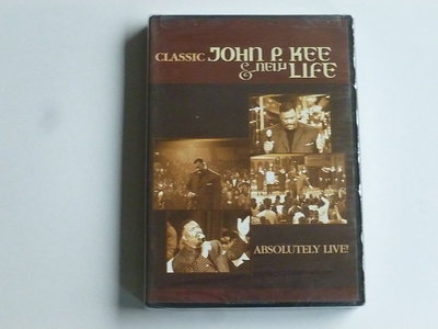 Classic John P. Kee & new Life - Absolutely Live! (DVD) Nieuw