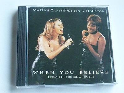 Mariah Carey & Whitney Houston - When you believe