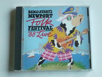 Ben & Jerry's Newport Folk Festival '88 Live