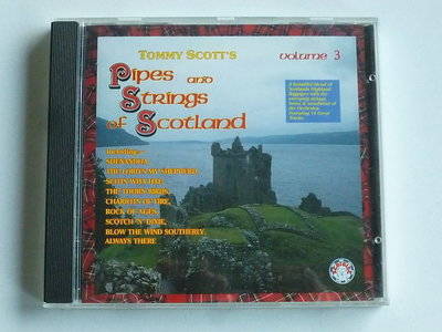 Tommy Scott's - Pipes and Strings of Scotland volume 3