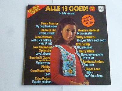 Alle 13 Goed! - Deel 7 (LP)