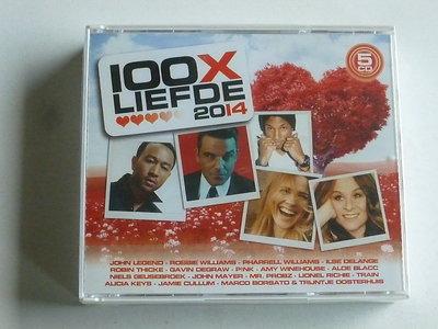 100 x Liefde 2014 (5 CD) Nieuw