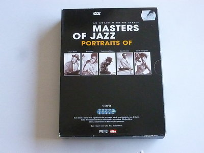 Masters of Jazz - An Award-winning series / Count basie, Monk, Ray Charles, S. Vaughan, Bluesland (5 DVD)