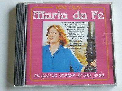 Maria da Fe - Eu queria cantar - te um fado